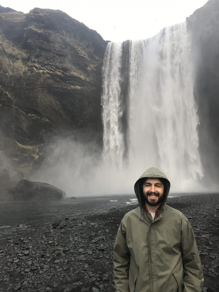Sólheimajökulsvegur Waterfall