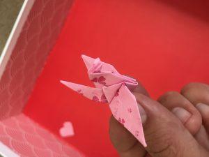 Aizome Bedding origami