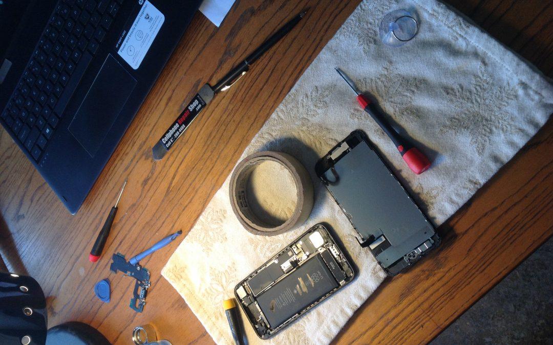 Repairing my iPhone 7